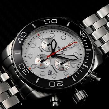 Швейцарские наручные  мужские часы Deep Blue SRCBF. Коллекция Sea Ram Chronograph