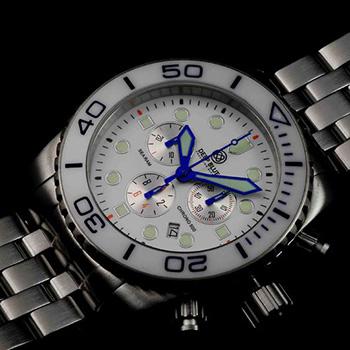 Швейцарские наручные  мужские часы Deep Blue SRCWA. Коллекция Sea Ram Chronograph