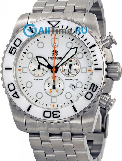 Мужские наручные часы в коллекции Sea Ram Chronograph Deep Blue