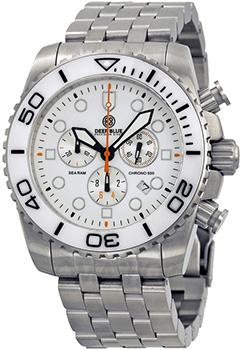Швейцарские наручные  мужские часы Deep Blue SRCWD. Коллекция Sea Ram Chronograph