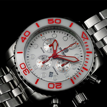 Швейцарские наручные  мужские часы Deep Blue SRCWE. Коллекция Sea Ram Chronograph