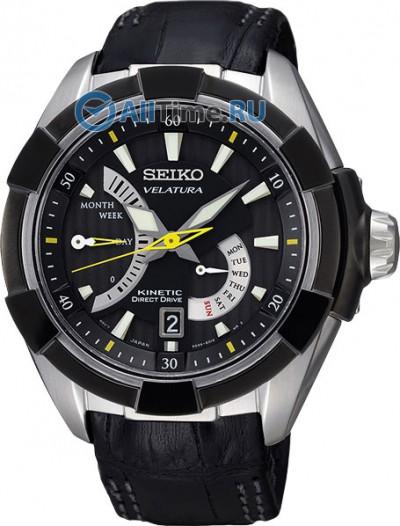 Мужские японские наручные часы в коллекции Velatura Seiko