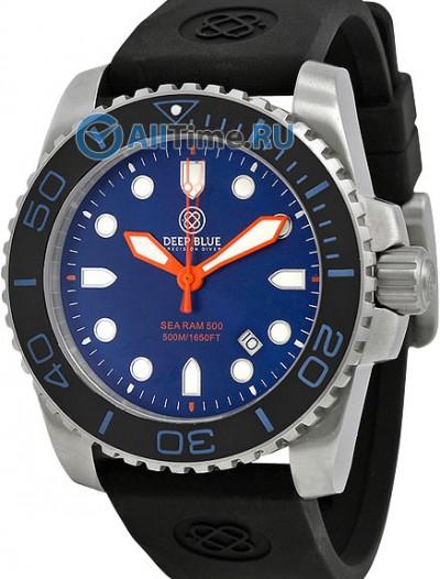 Мужские наручные часы в коллекции Sea Ram Quartz Deep Blue
