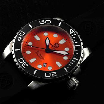 Швейцарские наручные  мужские часы Deep Blue SRQBC. Коллекция Sea Ram Quartz