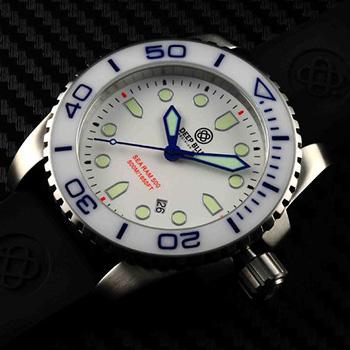 Швейцарские наручные  мужские часы Deep Blue SRQWB. Коллекция Sea Ram Quartz