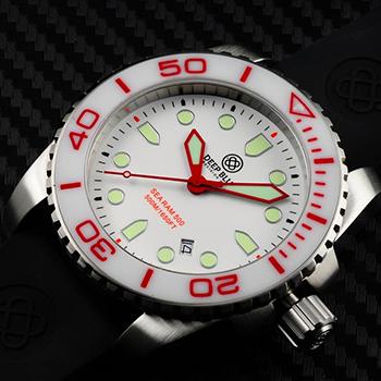 Швейцарские наручные  мужские часы Deep Blue SRQWC. Коллекция Sea Ram Quartz