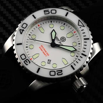 Швейцарские наручные  мужские часы Deep Blue SRQWD. Коллекция Sea Ram Quartz