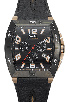 Швейцарские наручные  мужские часы Smalto ST1G013CBRB1. Коллекция Volterra