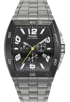 Швейцарские наручные  мужские часы Smalto ST1G013CMBB1. Коллекция Volterra