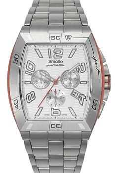 Швейцарские наручные  мужские часы Smalto ST1G013CMSS1. Коллекция Volterra