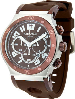 Швейцарские наручные  мужские часы Sauvage SV21106SBR. Коллекция Drive