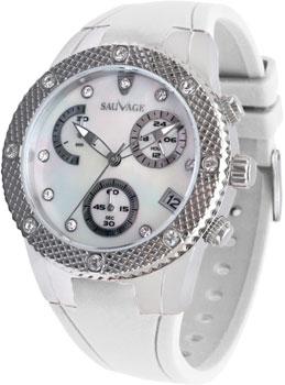Швейцарские наручные  женские часы Sauvage SV21244SWH. Коллекция Drive