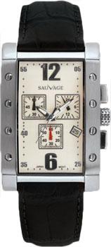 Швейцарские наручные  мужские часы Sauvage SV36201SBK. Коллекция Drive