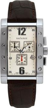 Швейцарские наручные  мужские часы Sauvage SV36201SBR. Коллекция Drive