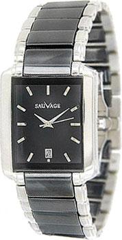 Швейцарские наручные  мужские часы Sauvage SV56702S. Коллекция Ceramic
