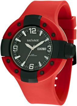 Швейцарские наручные  мужские часы Sauvage SV62682B. Коллекция Drive