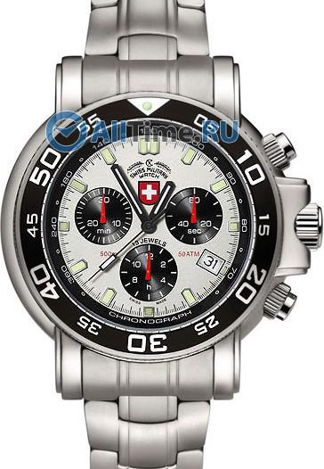 Мужские наручные швейцарские часы в коллекции Navy Diver CX Swiss Military