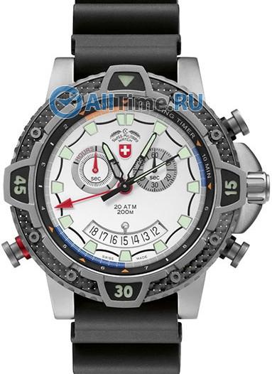 Мужские наручные швейцарские часы в коллекции Typhoon CX Swiss Military