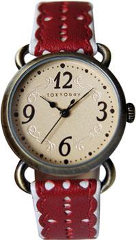 fashion наручные  женские часы TOKYObay T038-RD. Коллекция Doily