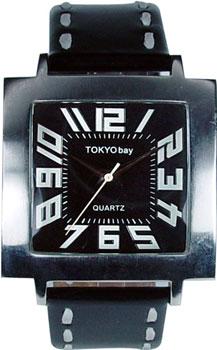 fashion наручные  мужские часы TOKYObay T105-BK. Коллекция Tram