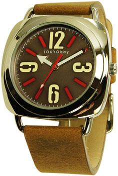 fashion наручные  мужские часы TOKYObay T168-BR. Коллекция Strata