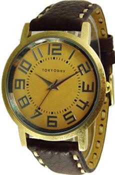 fashion наручные  мужские часы TOKYObay T174-GD. Коллекция Havana
