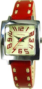 fashion наручные  женские часы TOKYObay T205-RD. Коллекция Tramette