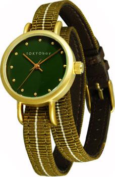 fashion наручные  женские часы TOKYObay T233-BR. Коллекция Obi