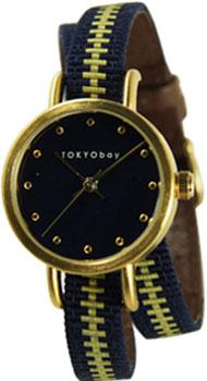 fashion наручные  женские часы TOKYObay T233-NV. Коллекция Obi