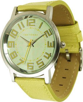 fashion наручные  женские часы TOKYObay T243-YEL. Коллекция Pearl Track