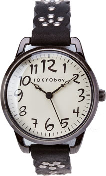 fashion наручные  женские часы TOKYObay T259-BK. Коллекция Scallop