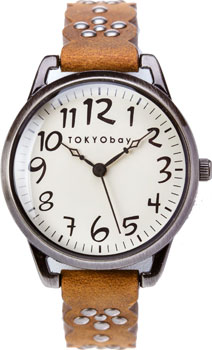 fashion наручные  женские часы TOKYObay T259-BR. Коллекция Scallop