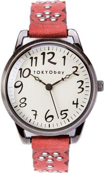 fashion наручные  женские часы TOKYObay T259-RD. Коллекция Scallop
