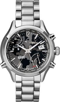 fashion наручные  мужские часы Timex T2N944. Коллекция Chronograph