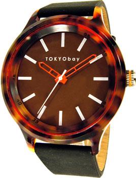 fashion наручные  мужские часы TOKYObay T366-BK. Коллекция Specs