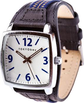 fashion наручные  мужские часы TOKYObay T376-BL. Коллекция Odoshi