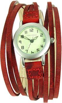 fashion наручные  женские часы TOKYObay T432-RD. Коллекция Gaucho