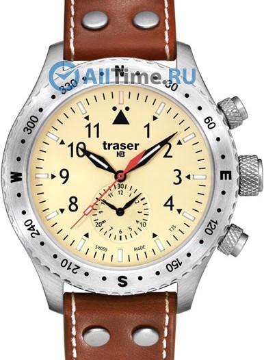 Мужские наручные швейцарские часы в коллекции Авиатор Traser