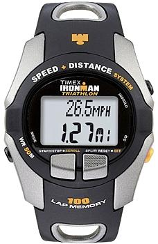 fashion наручные  мужские часы Timex T5E691. Коллекция Ironman Triathlon