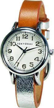 fashion наручные  женские часы TOKYObay T610-SI. Коллекция Samy