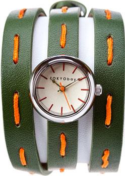 fashion наручные  женские часы TOKYObay T7322-GR. Коллекция Frida