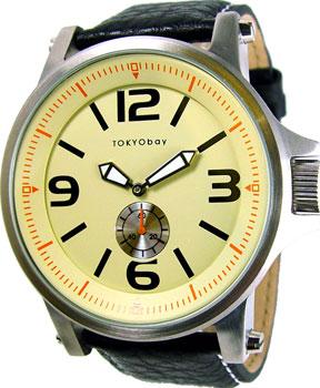 fashion наручные  мужские часы TOKYObay T807-BE. Коллекция Agent