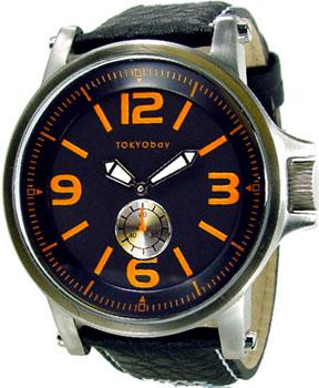fashion наручные  мужские часы TOKYObay T807-BK. Коллекция Agent