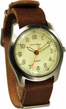 fashion наручные  мужские часы TOKYObay T856-TAN. Коллекция Basic
