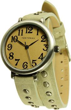 fashion наручные  женские часы TOKYObay TL427-ST. Коллекция Austin