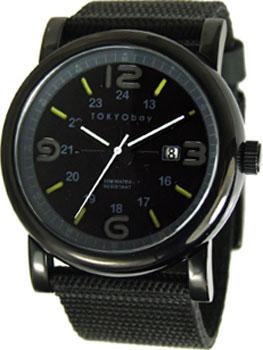 fashion наручные  мужские часы TOKYObay TM1045-BK. Коллекция Military