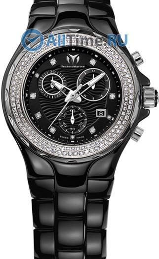 Женские наручные швейцарские часы в коллекции Cruise Ceramic TechnoMarine