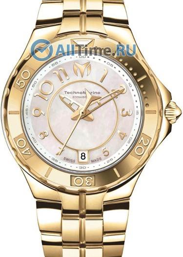 Женские наручные швейцарские часы в коллекции Sea Pearl TechnoMarine