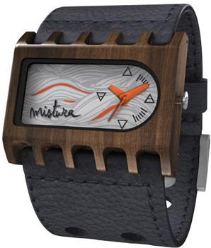 fashion наручные  мужские часы Mistura TP08001BKPUMNWD. Коллекция Ferro