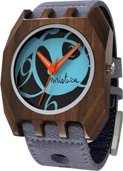 fashion наручные  мужские часы Mistura TP12017GYPUBLWD. Коллекция Volkano